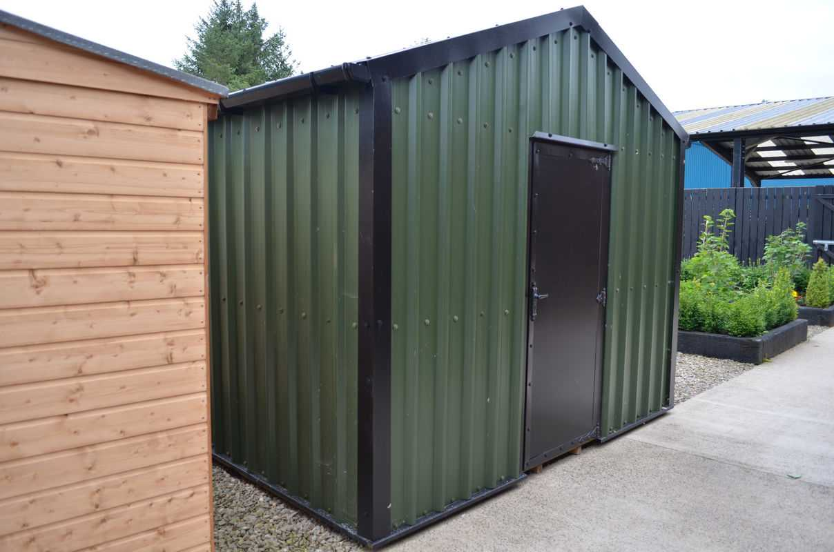 metal sheds. Black Bedroom Furniture Sets. Home Design Ideas